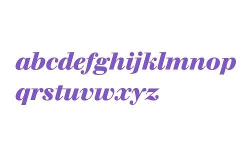 Berthold Walbaum Book Bold Italic