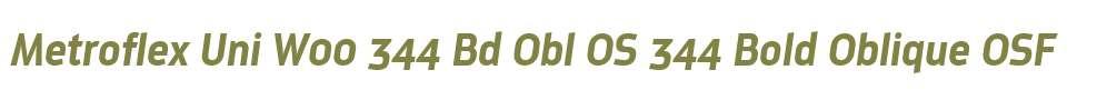 Metroflex Uni W00 344 Bd Obl OS