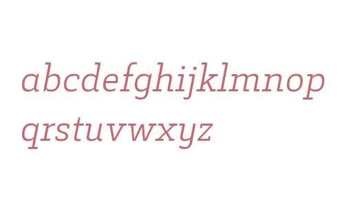Decour W00 Light Italic