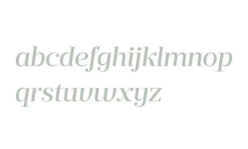Prumo Deck W00 Medium Italic