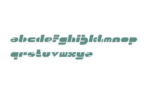 PUSH THE BUTTON Italic