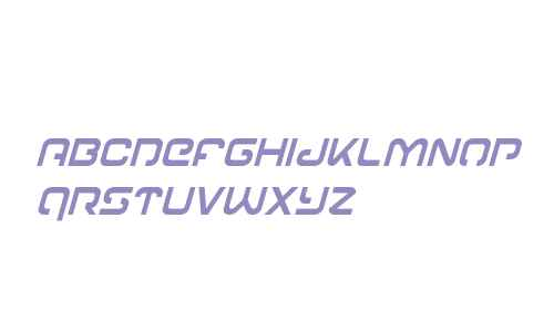 Gunrunner Condensed Italic