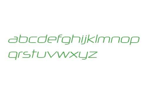 Neuropol X W00 Light Italic
