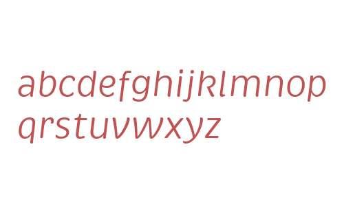 Brevia W02 Regular Italic