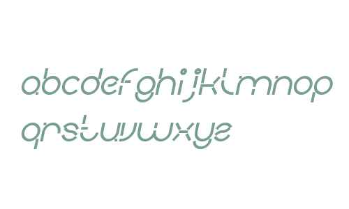 PEOPLE QUARK Bold Italic