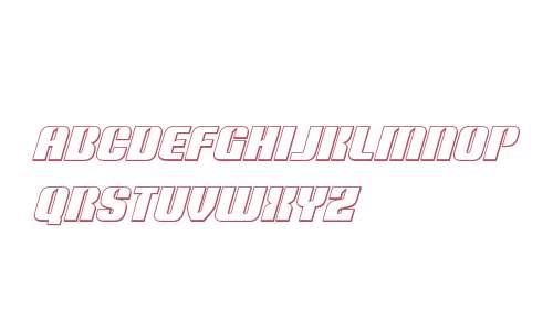 Nightwraith Outline Italic