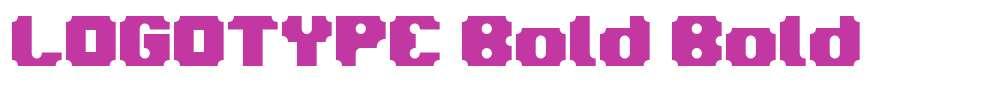 LOGOTYPE Bold
