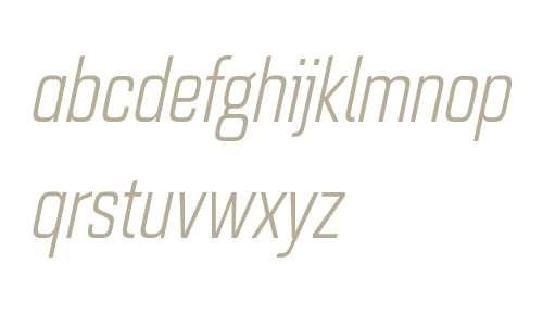 Quarca W01 Cond Book Italic