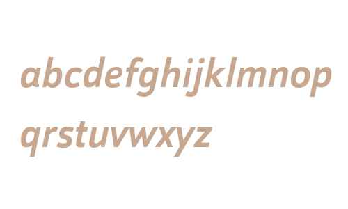 Helia W01 Medium Italic