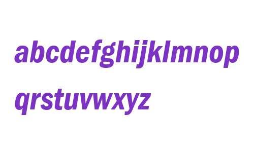 ITC Franklin Gothic LT Com Demi Condensed Italic