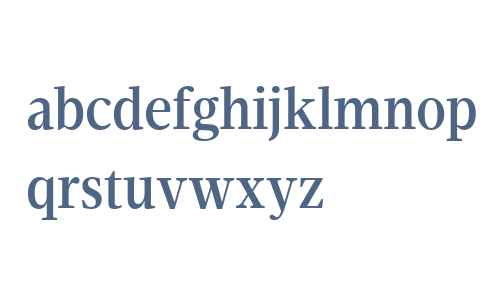 Velino Condensed Text W04 Md