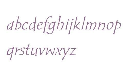 ITC Tempus Sans W01 Italic
