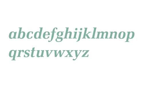 Zapf Elliptical 711 Bold Italic