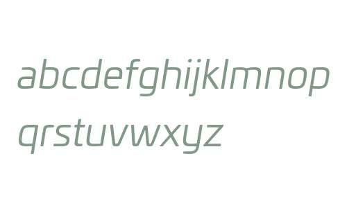 Univia W03 Book Italic
