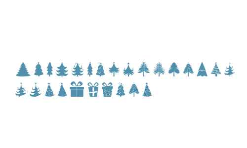 Christmas Trees V1