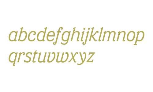 Eponymous-Italic