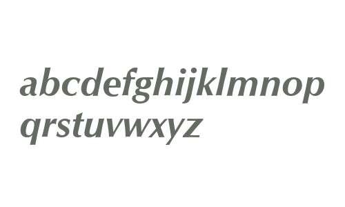 Optimum Bold Italic