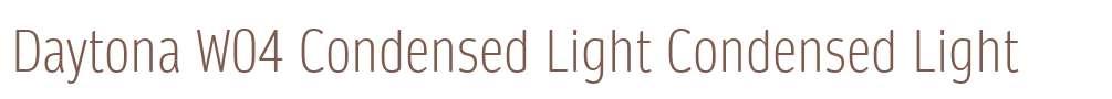 Daytona W04 Condensed Light