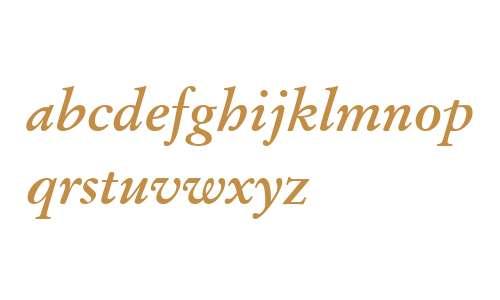 Stempel Garamond W04 Bd Italic