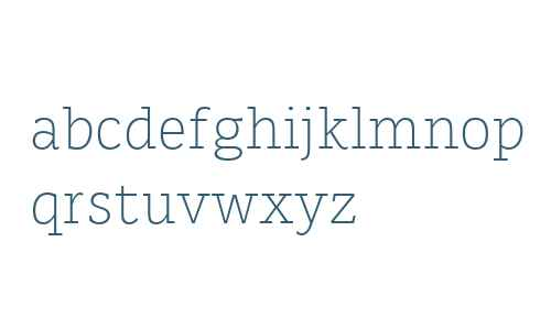 Karlo Serif W00 Light