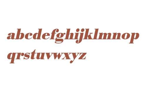 URWBodoniTNar Bold Oblique