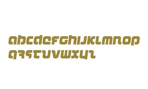 Combat Droid Semi-Italic