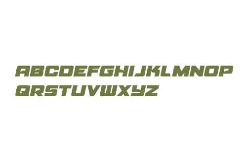 Aircruiser Semi-Italic