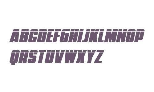 Punch Laser Italic