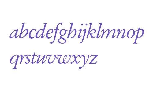 Garamond* Expert Italic OsF