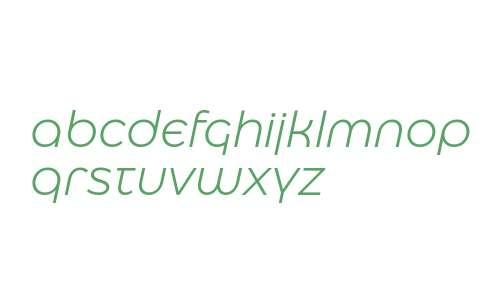 Eastman Alternate Trial Regular Offset Italic