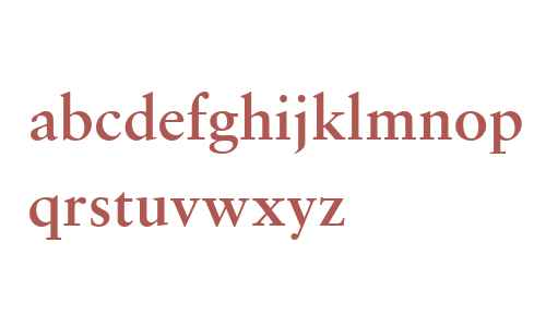 Monotype Sabon W04 Semi Bold