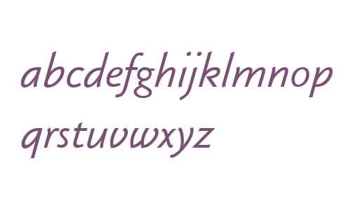 KlassikaBoo W00 Italic