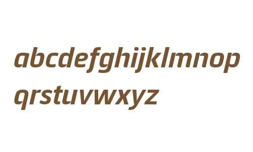 Quitador Sans Pro Bold Italic