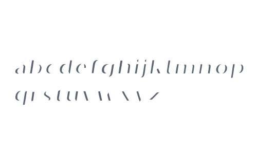Oilvare Highlight Italic