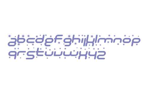 SF Technodelight Bold Italic V2 V1