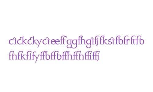 Kurosawa Serif Expert MediumW00