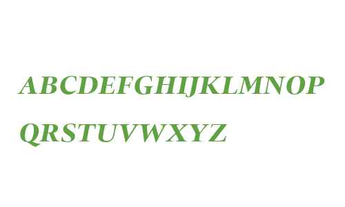 Quant W01SC Bold Italic