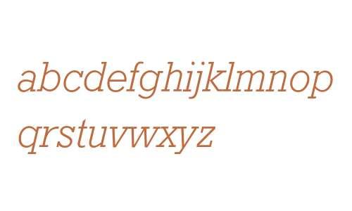 GeoSlb712 Lt BT W08 Italic