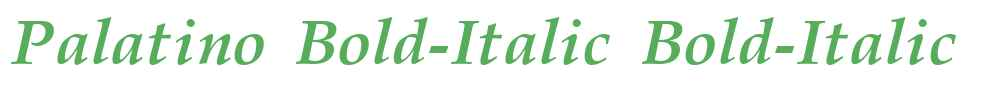 Palatino Bold-Italic