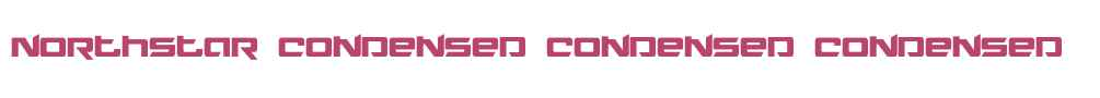 Northstar Condensed Condensed