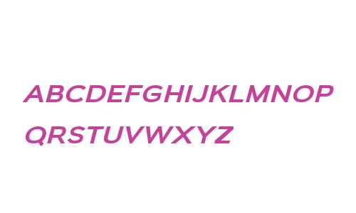 Biondi Sans W00 Italic