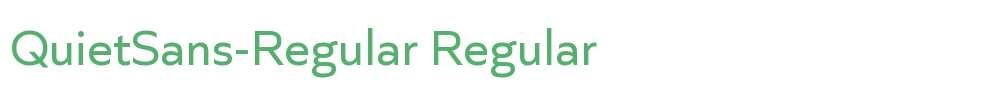QuietSans-Regular