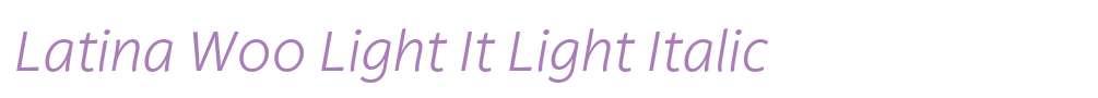 Latina W00 Light It