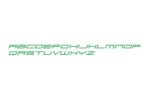 911 Porscha Expanded Italic