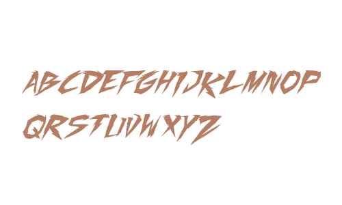 Fighting Spirit TBS Italic