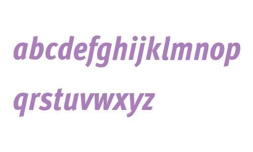 Meta W15 Cond Xbold Italic
