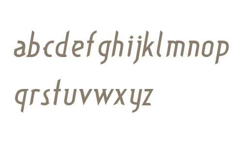 TypographictionItalic W00 Rg