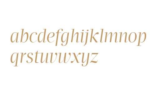 Apud Display W01 Roman Italic