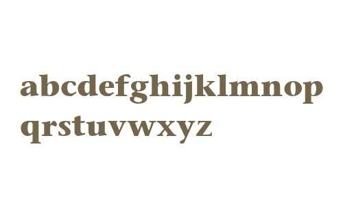 ITC Stone Serif LT Bold