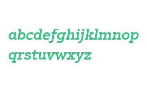 Justus W01 Medium Italic